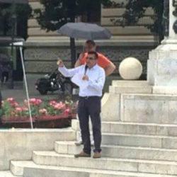 Говор председника Покрета за ПРЕОКРЕТ Јанка Веселиновића на протесту против изборне крађе након претходних парламентарних избора