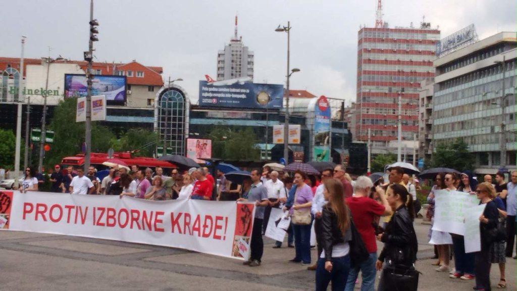 Protest protiv izborne kradje (4)