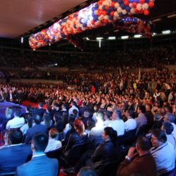 Победничка конвенција Вука Јеремића у Београду