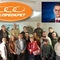 Председник Покрета за ПРЕОКРЕТ разговарао са новим члановима који су напустили СПС и СНС и подржали Вука Јеремића