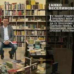 РТВ Документ: Јанко Веселиновић – председник Покрета за ПРЕОКРЕТ
