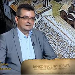 """ТВ """"НАША"""" – САМО СЛОВЕНСКИ  – гост : проф.др. Јанко Веселиновић"""