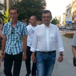 Председник Покрета за ПРЕОКРЕТ проф. др Јанко Веселиновић посетио је ГО у Краљеву