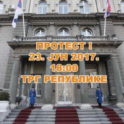 Покрет за ПРЕОКРЕТ ће учествовати на протесту на дан инаугурације