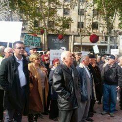 Председник Покрета за ПРЕОКРЕТ учествовао на протесту пензионера