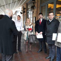 Председник Покрета за ПРЕОКРЕТ присуствовао предаји захтева Маји Гојковић за упућивање позива ОЕБС-у