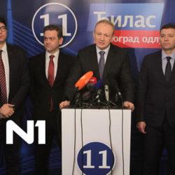 N1- Đilas za koaliciju na nivou Srbije