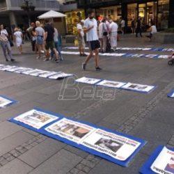 BETA : Izložba Pokreta za preokret povodom šest godina od formiranja kaolicione vlade SNS i SPS