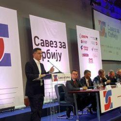 DANAS : U Beogradu i zvanično formiran Savez za Srbiju