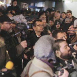 """Протест """"Против крвавих кошуља"""" у Београду"""