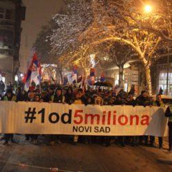 Нови протест у Новом Саду