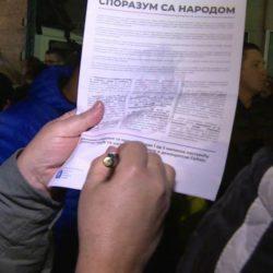 """N1 – Veselinović: Građani će moći i elektronski da potpišu """"Sporazum sa narodom"""""""