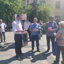 Веселиновић: Само сменом режима може да се спаси животна срединa